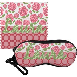 Roses Eyeglass Case & Cloth (Personalized)