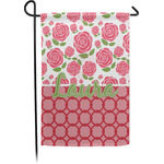 Roses Garden Flag - Single or Double Sided (Personalized)