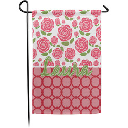 Roses Garden Flags With Pole - Single or Double Sided (Personalized)