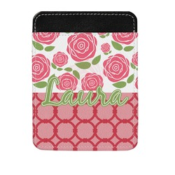 Roses Genuine Leather Money Clip (Personalized)