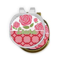Roses Golf Ball Marker - Hat Clip