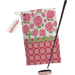 Roses Golf Towel Gift Set (Personalized)