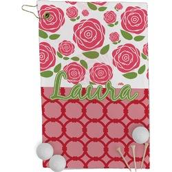Roses Golf Towel - Full Print (Personalized)