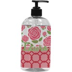 Roses Plastic Soap / Lotion Dispenser (Personalized)