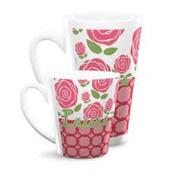 Roses Latte Mug (Personalized)
