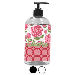 Roses Plastic Soap / Lotion Dispenser (Personalized)
