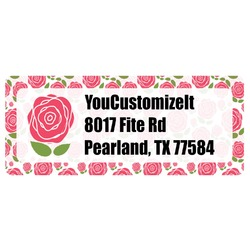 Roses Return Address Labels (Personalized)