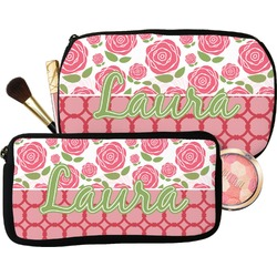 Roses Makeup / Cosmetic Bag (Personalized)