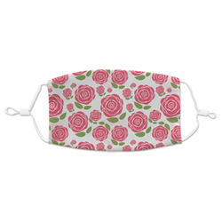 Roses Adult Cloth Face Mask (Personalized)