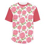 Roses Men's Crew T-Shirt (Personalized)