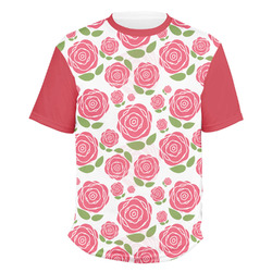 Roses Men's Crew T-Shirt (Personalized)