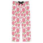 Roses Mens Pajama Pants (Personalized)