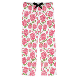 Roses Mens Pajama Pants (Personalized)