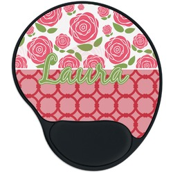 Roses Mouse Pad with Wrist Support