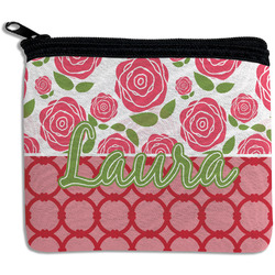 Roses Rectangular Coin Purse (Personalized)
