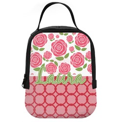 Roses Neoprene Lunch Tote (Personalized)