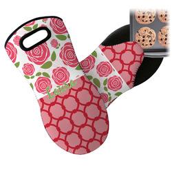 Roses Neoprene Oven Mitt (Personalized)