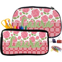 Roses Pencil / School Supplies Bag (Personalized)