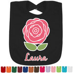 Roses Bib - Select Color (Personalized)