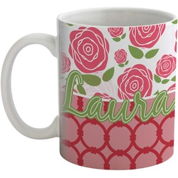 Roses Coffee Mug (Personalized)