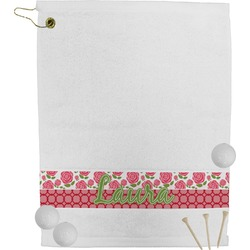 Roses Golf Towel (Personalized)