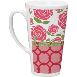 Roses Latte Mug (Personalized)