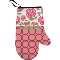 Roses Oven Mitt (Personalized)