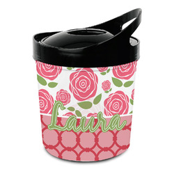 Roses Plastic Ice Bucket (Personalized)
