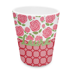 Roses Plastic Tumbler 6oz (Personalized)