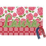 Roses Rectangular Fridge Magnet (Personalized)