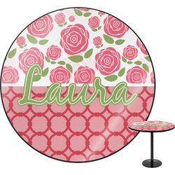 Roses Round Table (Personalized)