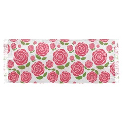 Roses Faux Pashmina Scarf (Personalized)