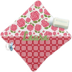 Roses Security Blanket (Personalized)