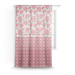 Roses Sheer Curtains (Personalized)