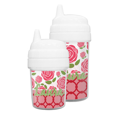Roses Sippy Cup (Personalized)