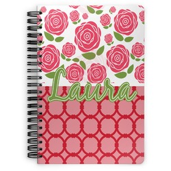 Roses Spiral Bound Notebook (Personalized)