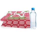 Roses Sports & Fitness Towel (Personalized)