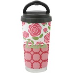 Roses Stainless Steel Coffee Tumbler (Personalized)