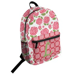 Roses Student Backpack (Personalized)