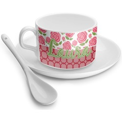 Roses Tea Cups (Personalized)