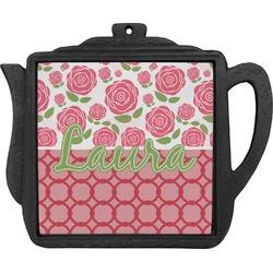 Roses Teapot Trivet (Personalized)