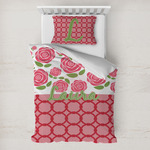 Roses Toddler Bedding w/ Name or Text