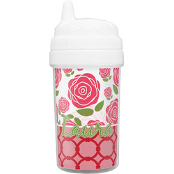 Roses Toddler Sippy Cup (Personalized)