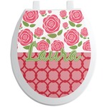 Roses Toilet Seat Decal (Personalized)
