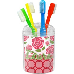 Roses Toothbrush Holder (Personalized)