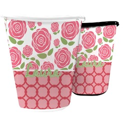 Roses Waste Basket (Personalized)