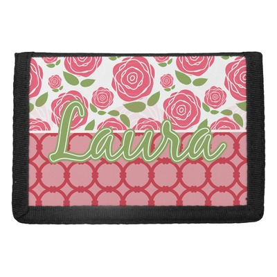 Roses Trifold Wallet (Personalized)