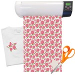"Roses Heat Transfer Vinyl Sheet (12""x18"")"