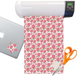 Roses Sticker Vinyl Sheet (Permanent)