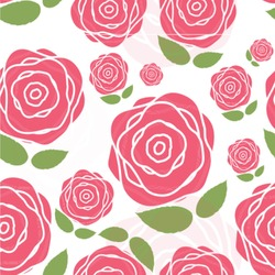 Roses Wallpaper & Surface Covering